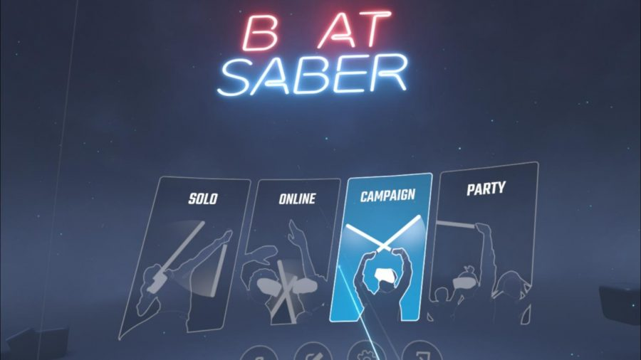 "Beat Saber, but the ""E"" is missing."